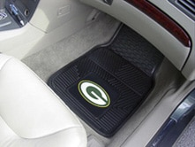 NFL Heavy Duty 2-Piece Vinyl Car Mats