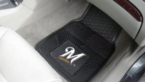 MLB Heavy Duty 2-Piece Vinyl Car Mats